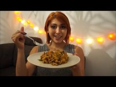 würziger, goldbrauner gebratener Reis (vegan) // VeganEasy
