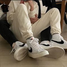 Image about love in cutest couple by Iben R on We Heart It Couple Aesthetic, Aesthetic Clothes, Beige Aesthetic, Cute Couples Goals, Couple Goals, Fille Gangsta, Nike Blazer, The Love Club, Cute Gay