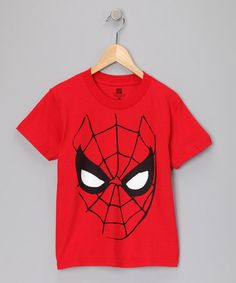 Marvel Spider-Man tee for the minimalist. On #zulily.