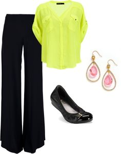 Business Chic! I want these pants :)