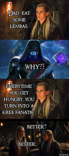 Dad, eat some lembas #snickers #LOTR