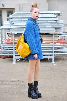 Fashion_Snap - パリのガールスナップ。