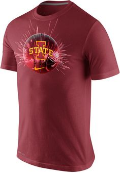 Nike Men's Iowa State Cyclones Basketball Player T-Shirt
