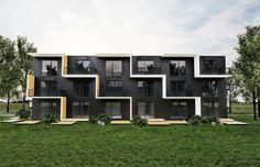 Module housing in Sweden
