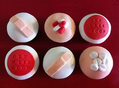 Nurse themed cupcakes: YES.