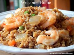 Welcome Home: Shrimp Fried Rice