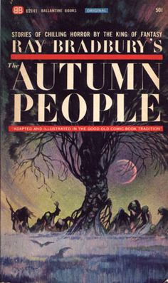 Ray Bradbury's THE AUTUMN PEOPLE, cover by Frank Frazetta