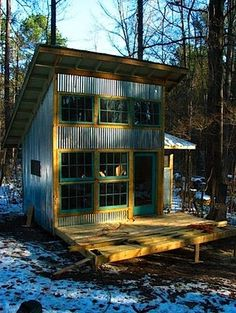 How to Recycle a Tiny House