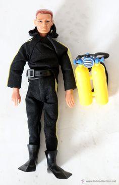 Madelman submarinista de Altaya, completo