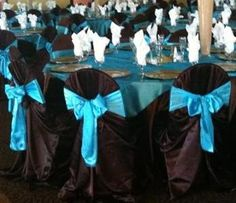 Turquoise and Black Set Up