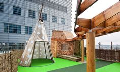 Giant tigers and rooftop teepees: the Royal London Hospital play space | Art and design | guardian.co.uk