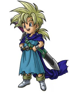 Hero's Son Parry - Characters & Art - Dragon Quest V: Hand of the Heavenly Bride
