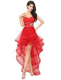 Sarahbridal Women's Hi-Lo Sweatheart Homecoming Cocktail Dress Red Size US 12 Sarahbridal http://www.amazon.com/dp/B00NZS54ZA/ref=cm_sw_r_pi_dp_xiITwb1MA1QA6