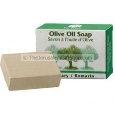 Olive Oil Soap enriched with Rosemary.