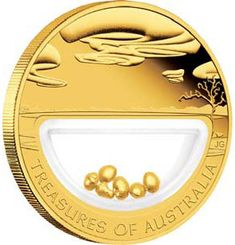 TREASURES OF AUSTRALIA GOLD AND GOLD NUGGET COIN SERIES  treasures of the world, gold coin , gold nuggets, gold coin