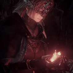 "Dark Souls 3 ""The Firekeeper"" My Fantasy World, Dark Fantasy, Fantasy Art, Dark Souls Fire Keeper, Arte Dark Souls, Dark Souls 3 Gif, Character Inspiration, Character Art, Bloodborne Art"