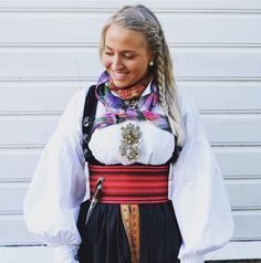 Folk Costume, Costumes, Going Out Of Business, Summer Outfits Women, Traditional Outfits, Vintage Photos, Norway, Bridal Dresses, Scandinavian