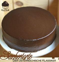 Sachertorte… viel mehr als ein Stück Kuchen Oreo Desserts, Peanut Butter Desserts, Fancy Desserts, Pudding Desserts, Cute Thanksgiving Desserts, Cake Recipes, Dessert Recipes, Food Cakes, Chocolates
