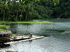 One of the Twin Lakes San Pablo Laguna, Yambo Lake