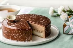 Pastry Recipes, Cooking Recipes, Dacquoise Coco, Japanese Cheesecake, Cake & Co, Pastry Shop, Mousse Cake, Pastry Cake, Easy Cake Recipes