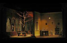 Doubt. Weston Playhouse 2008. Set design by Caleb Wertenbaker.