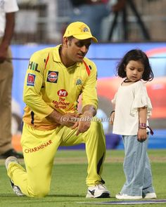 Image may contain: 2 people, people playing sports and outdoor - Boobalakrishnan A R Moorthy - BuyThenNow India Cricket Team, World Cricket, Cricket Sport, Cricket Tips, Ms Doni, Ziva Dhoni, Ms Dhoni Photos, Dhoni Quotes, Ms Dhoni Wallpapers