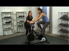 Take indoor cycling to the next level with Katie Holmes's spin routine!