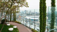 В центре Киева открыли парк на крыше дома | БЖ