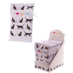 Vonný váček I Love My Cat, Levandule, 10g Skvělý doplněk do skříní a šuplíků, krásně provoní prostor i oblečení. #ILoveMyCat #cat #scent #accessories #lavender