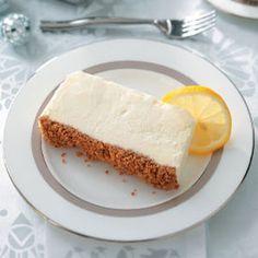 Italian Lemon Frozen Dessert. Bursting with the refreshing flavor of lemon!
