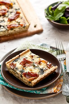 Gluten Free Swiss Chard, Goat Cheese and Proscuitto Tart by tartelette ...