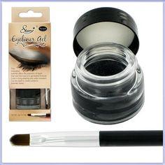 Starry Long Lasting Waterproof Eyeliner Gel Black Mercedes Charcoal Slate Eye Liner. #beauty, #make up, #eyes