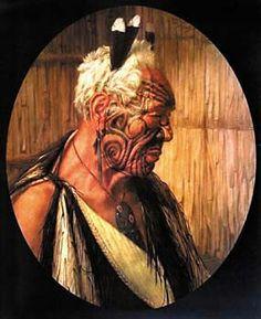 Tattoo History - Maori / New Zealand Tattoo Images - History of Tattoos and Tattooing Worldwide Maori Tattoos, Maori Tattoo Designs, Borneo Tattoos, Tribal Tattoos, New Zealand Tattoo, New Zealand Art, Maori People, History Tattoos, Nz Art