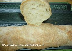 Esther B's ready meals: French bread baguettes Robot Boulanger, Pain Artisanal, Esther, Baguettes, Crunch, Artisan Bread, Meals, Food, January