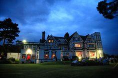 Bickley Manor at dusk