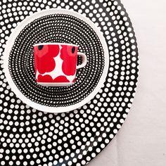 Mix of patterns Marimekko, I Shop, Ceramics, Patterns, Gold, Design, Art, Beautiful Things, Do Your Thing