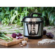 Shoptime Panela de Pressão Elétrica Fun Kitchen Inox 4L com 2 Anos de Garantia - R$ 167,31