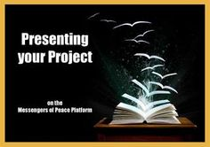 how to present your project on Messengers of Peace Platform Service Projects, Project Yourself, Scouts, Projects To Try, Eagle, Platform, Tutorials, Ideas, Boy Scouts