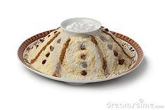 Cuscús dulce marroquí tradicional