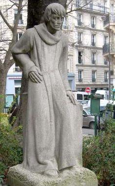René Collamarini : François Villon, square langevin