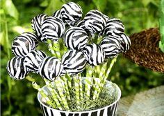 Cake Pop Zebra