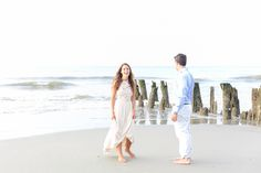 Sunrise Engagement Session Folly Beach Boone Hall 0036 by Charleston wedding photographer Dana Cubbage Weddings