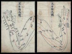 cartes de bras pour l'acupuncture