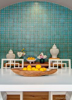 Moroccan tile in modern home decor