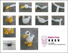 delightful duckling Owl Balloons, Balloon Hat, Balloon Crafts, Butterfly Balloons, Ballon Diy, Deco Ballon, Balloon Centerpieces, Balloon Decorations, Balloon Ideas