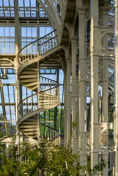 Donald Insall Associates restores Victorian glasshouse at Kew Gardens Victorian Greenhouses, Richmond Upon Thames, Glass Structure, Monster House, Stone Columns, Kew Gardens, Architectural Elements, Garden Styles, World Heritage Sites