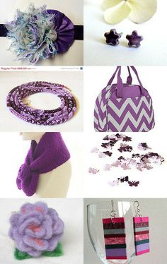 """""""Shades of Purple"""" Treasury by Audrey SPS and PCF Teams - Blitz"""
