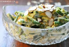 Tangy Green Bean Casserole || No Sugar Sweet Life