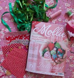 Mollie Makes magazine from the UK.