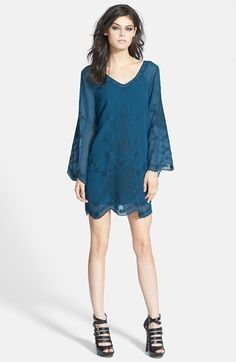 ASTR Bell Sleeve Shift Dress available at #Nordstrom